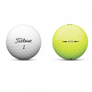 Titleist AVX - Yellow/White