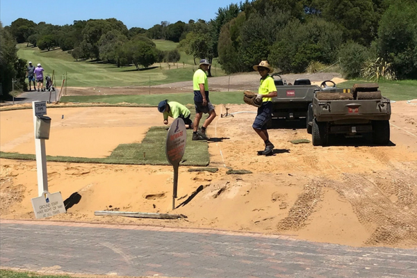 New Course Works Down To a Tee