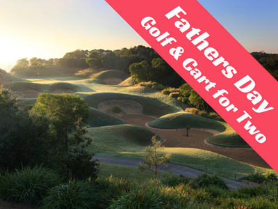 Fathers Day - Golf and cart for 2